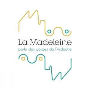 logo grotte La Madeleine - marque tourisme Ardèche